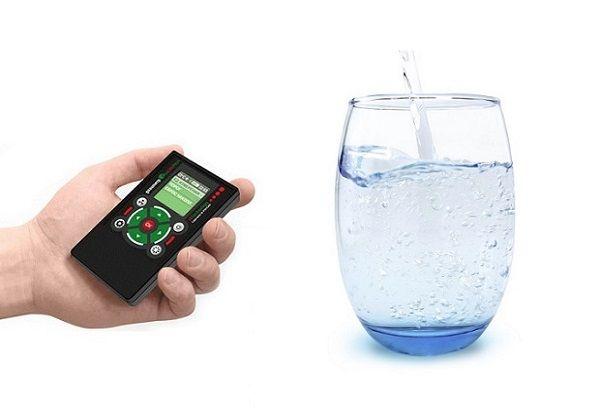 Проверка питьевой воды на жёсткость