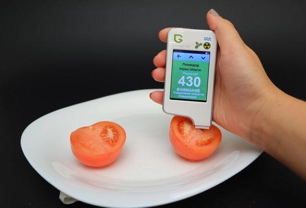 Проверка нитратов в помидорах