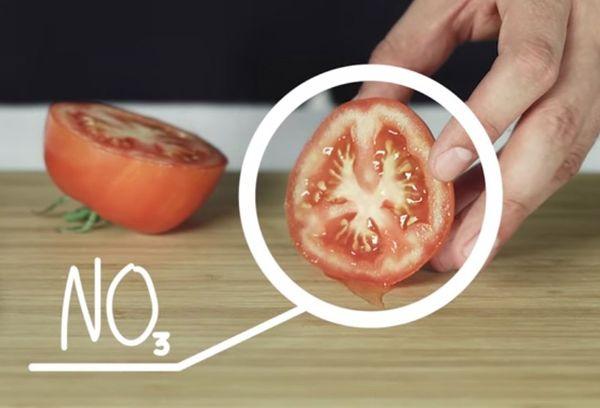 Нитраты в помидоре